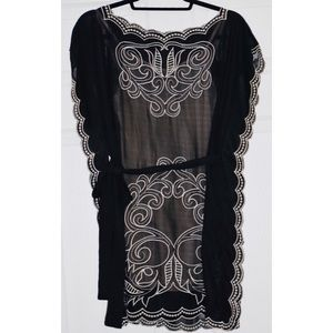 Forever21: Sheer embroidered dress
